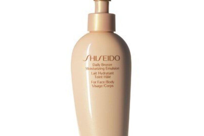 Shiseido Daily Bronze Moisturizing Emulsion Face and Body Lotion