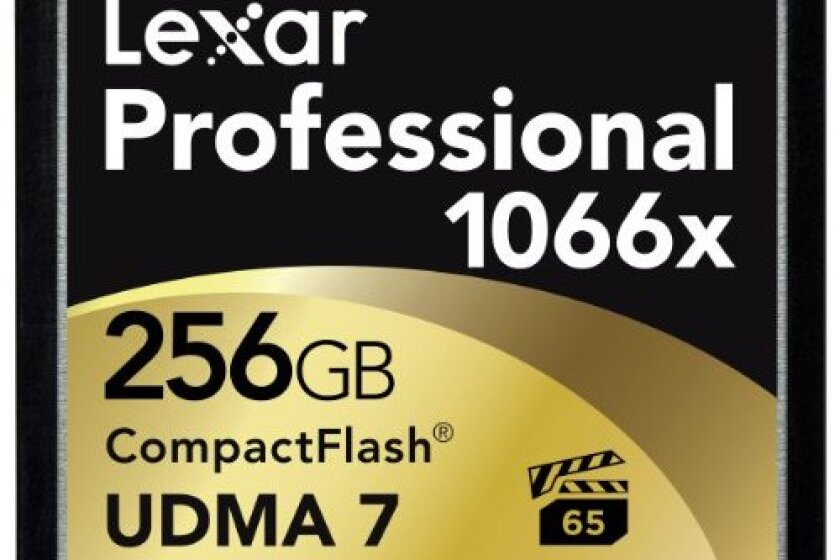 Lexar Professional 1066x 256GB VPG-65 Compact Flash Card
