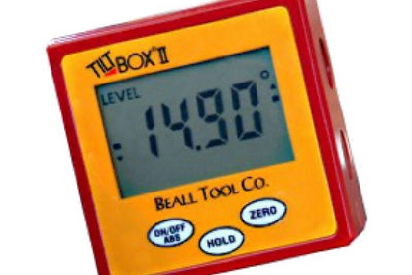 Beall Tool Tilt Box II