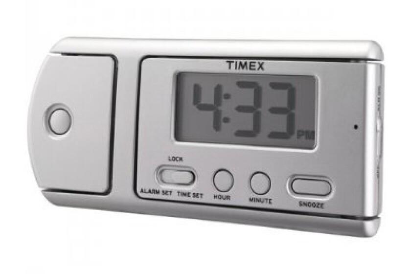 Timex T115S Multi-Function Travel Alarm Clock