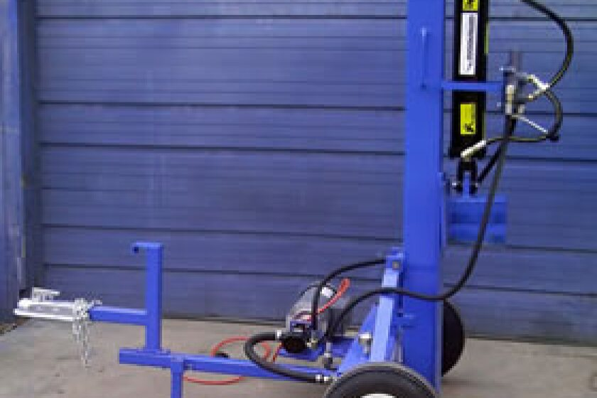 Ramsplitter 20-Ton Horizontal / Vertical Electric Log Splitter