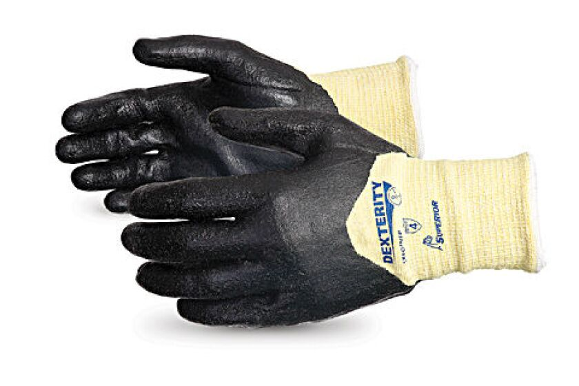 Dexterity Composite Cut-Resistant Glove with ¾ Foam Nitrile Coating