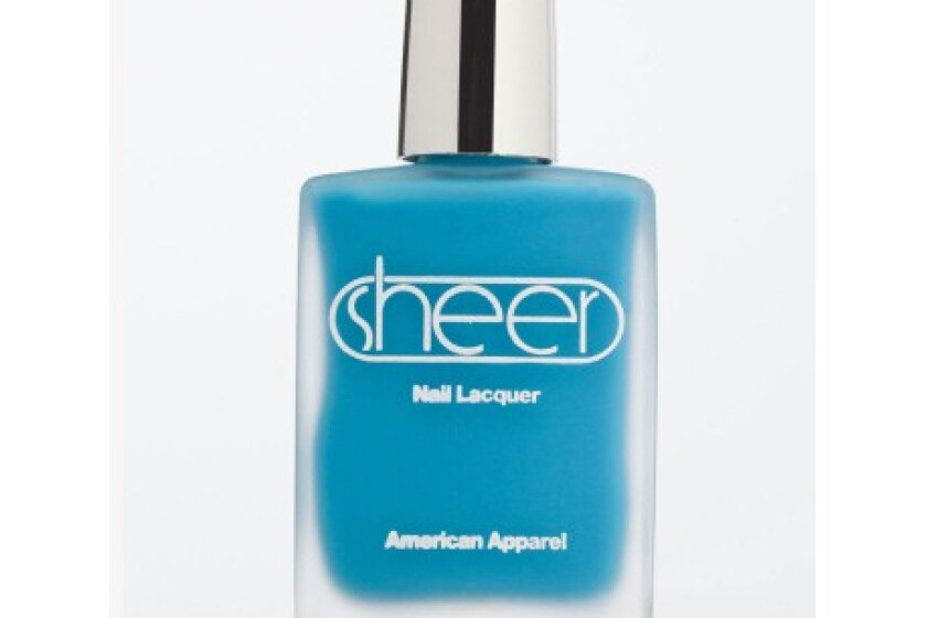 American Apparel Sheer Nail Lacquer