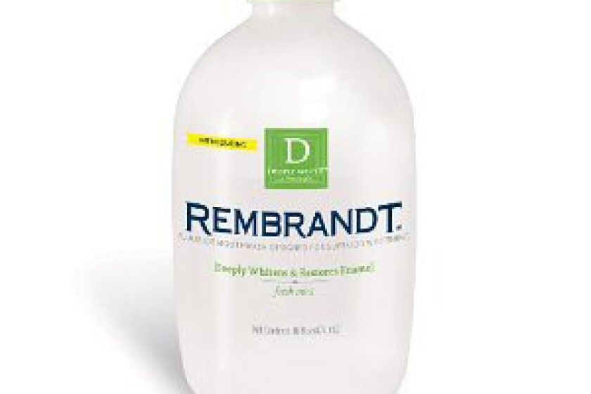 Rembrandt Whitening Fresh Mint Mouthwash with Fluoride