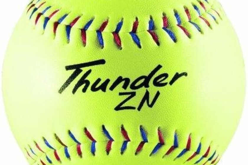 Dudley Thunder ZN Slow Pitch Composite Soft Ball