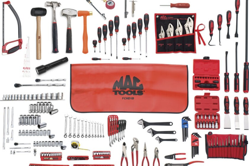 Mac MTS100AS, 265 Piece Essential Tool Master Set