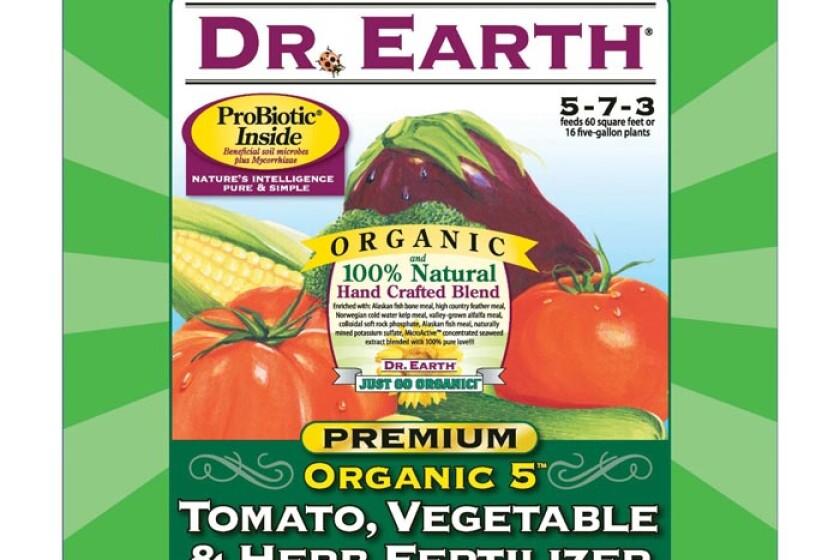Dr. Earth 704P Organic 5 Tomato, Vegetable & Herb Fertilizer