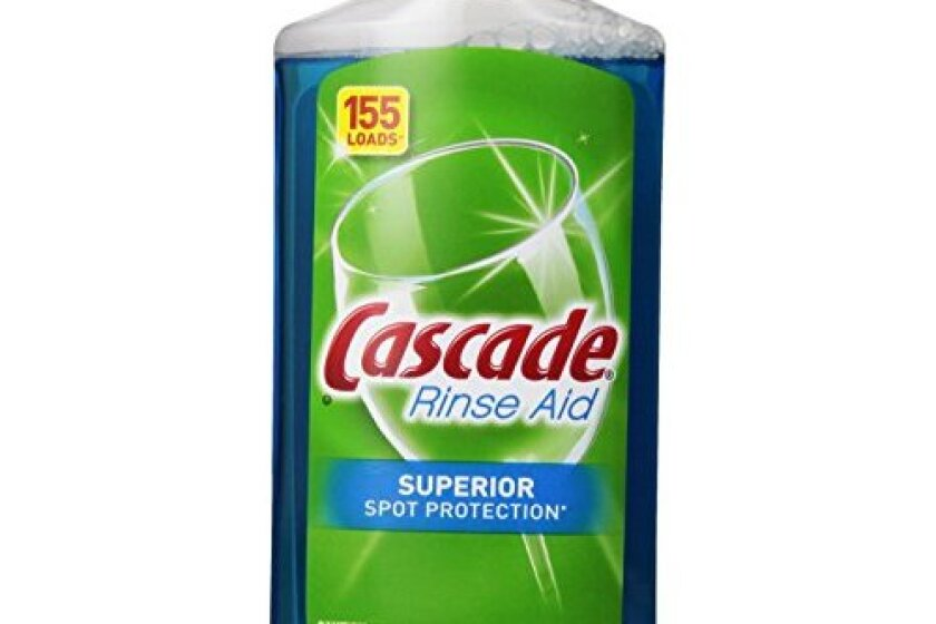 Cascade Rinse Aid, Dishwasher Rinse Agent