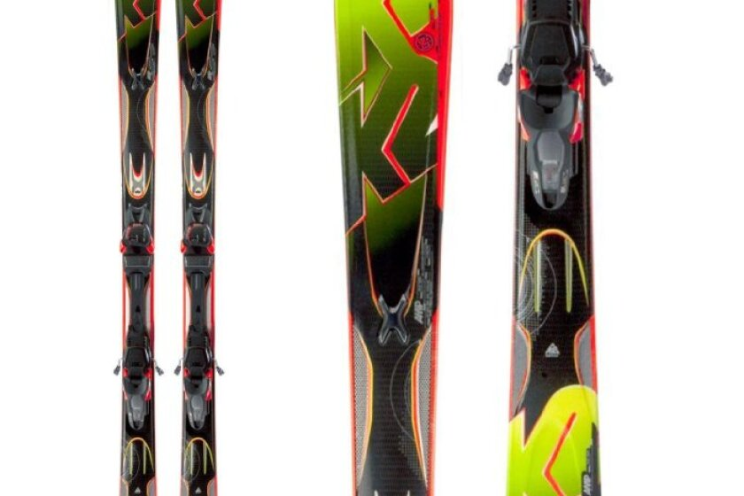 K2 A.M.P. Rictor Skis 2013