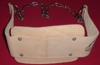 APT Heavy Natural Leather Dipping Belt