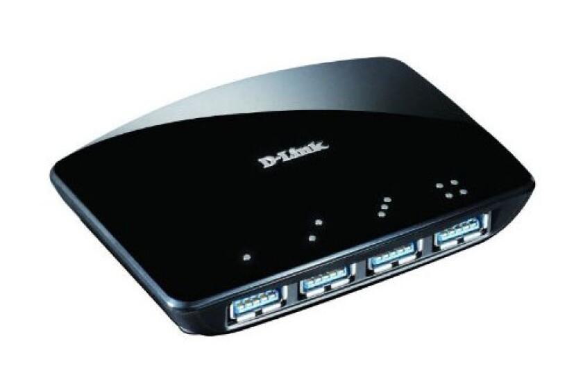 D-Link 4-Port Superspeed USB 3 Hub - DUB-1340
