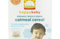 Happy Baby Whole Grain Cereal, Oatmeal