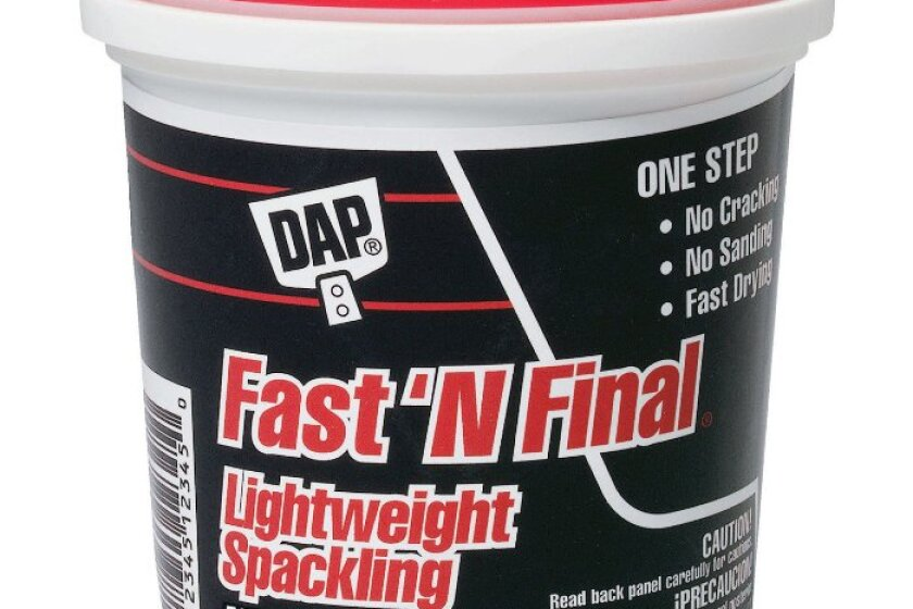 Dap 1 Fast 'n Final Lightweight Spackling