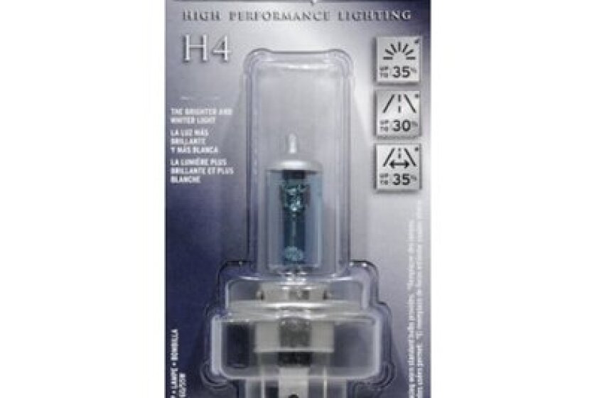 Sylvania SilverStar High Performance Halogen Headlight