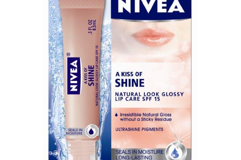 NIVEA A Kiss of Shine Natural Glossy Lip Care SPF 15