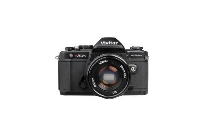 best Vivitar V3800N 35mm SLR Camera with 50mm f1.7 Lens