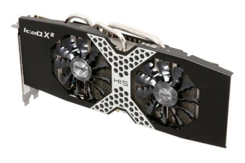 HIS R9 280X iPower IceQ X2 Boost Clock 3GB Graphics Card H280XQM3G2M
