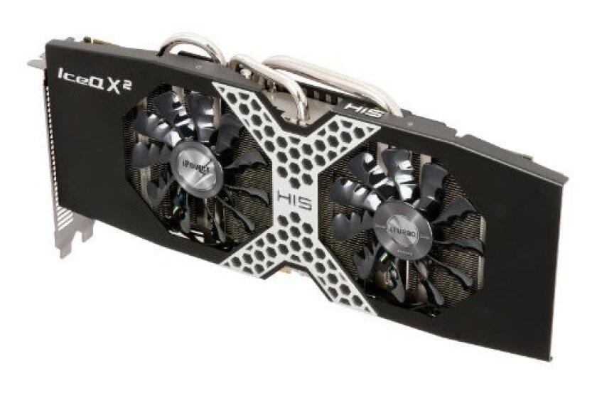 HIS R9 280X iPower IceQ X2 Boost Clock 3GB Graphics Card H280XQM3G2M