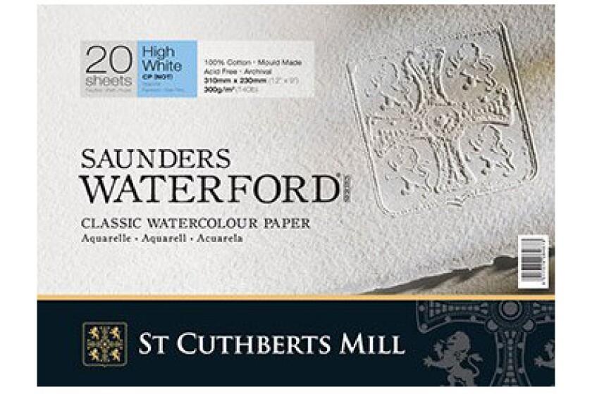 Saunders Waterford Watercolor Paper