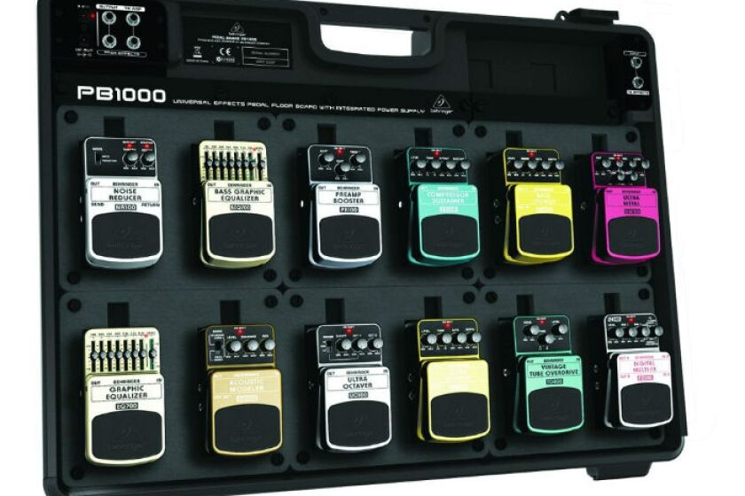 Behringer PB1000 Pedalboard with Power Supply