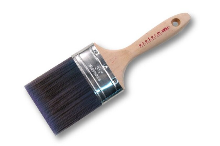 Proform CO3.5S Oval Straight Cut 70/30 Blend Paint Brush 3-1/2-Inch