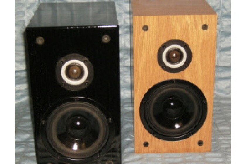 EB Acoustics EB1 Bookshelf Speakers