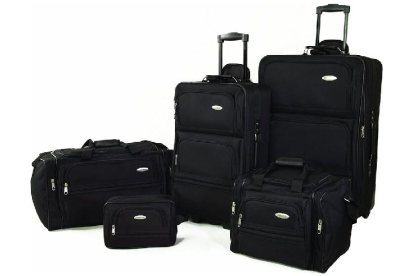 best Samsonite 5-Piece Travel Set