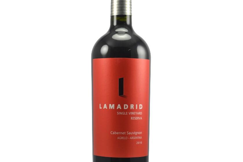 Lamadrid Cabernet Sauvignon '10