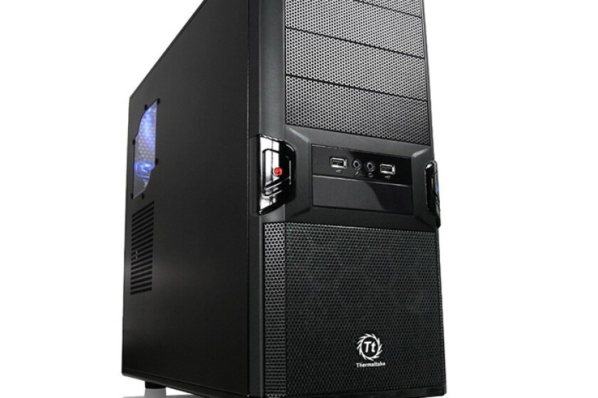 ThermalTake System Cabinet - Mid-tower - Black