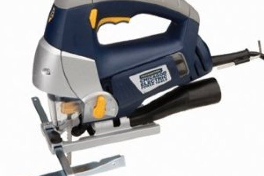 Chicago Electric Power Tools Professional Orbital Jigsaw with Laser Cutting Guide