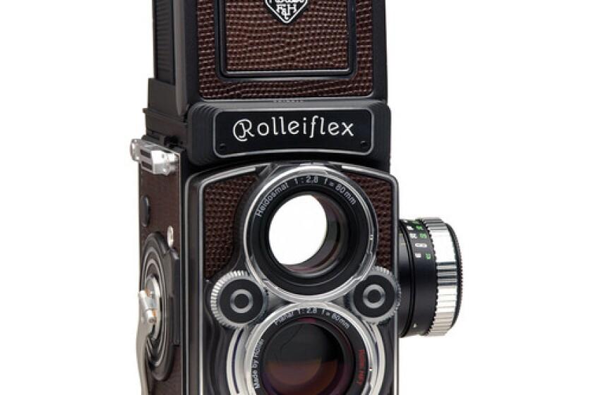 Rolleiflex 2.8 FX Medium Format Twin Lens Reflex Camera