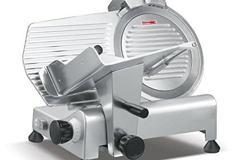 Presto PS-12 Anodized Aluminum Meat Slicer