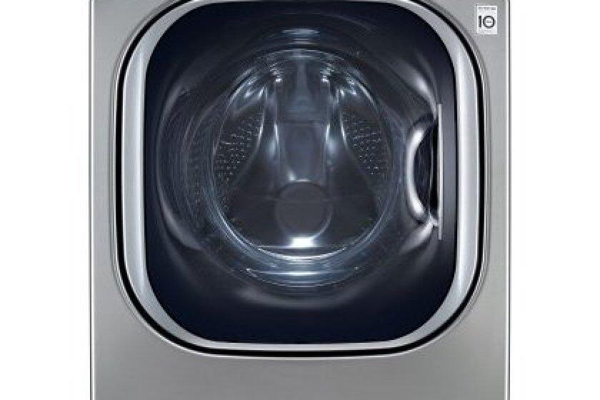 LG 7.4 Cu. Ft. Graphite Steel Stackable Front Load Steam Dryer - DLGX4071V