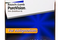 Bausch and Lomb PureVision Toric for Astigmatism Contact Lenses