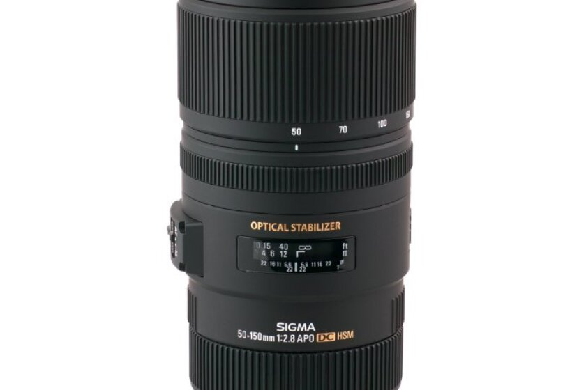 Sigma 50-150mm f2.8 EX DC OS HSM APO Lens for Canon