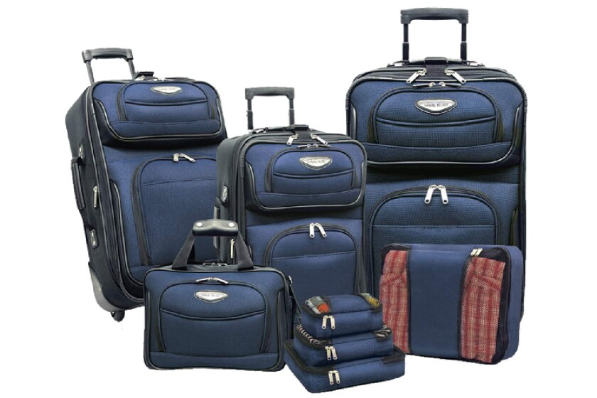 best Traveler's Choice Amsterdam 8-Piece Luggage Set
