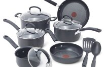 T-Fal - Ultimate Hard Anodized Nonstick 12-Piece Cookware Set
