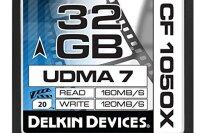 Delkin 32 GB CF 1050X UDMA 7 Cinema Memory Card