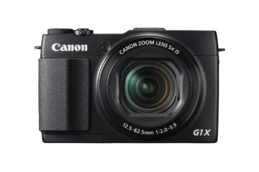 Canon PowerShot G1X Mark II Digital Camera