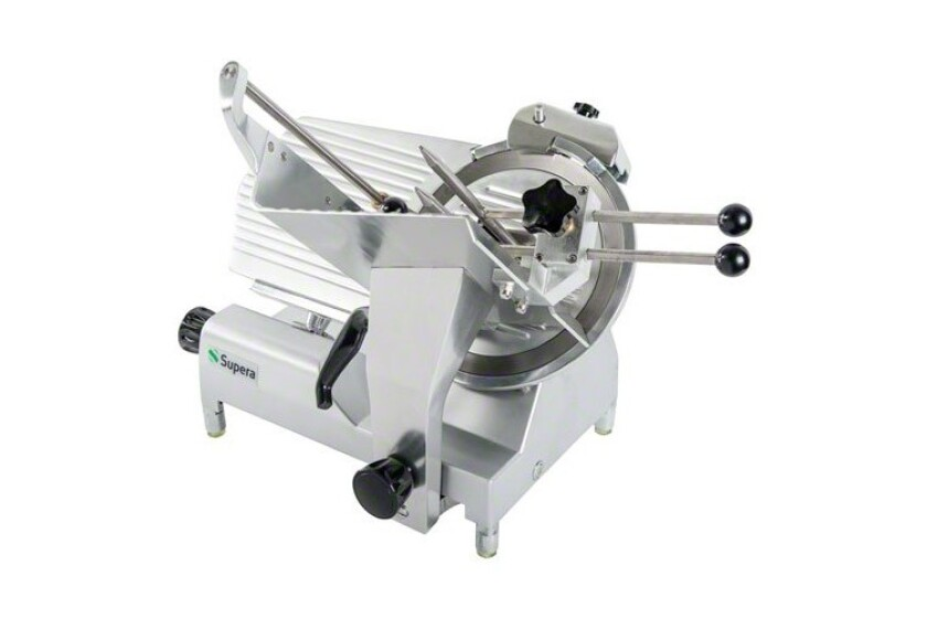 """best NEW - Supera (MS-12V) 12"""" Semi-Automatic Meat Slicer"""