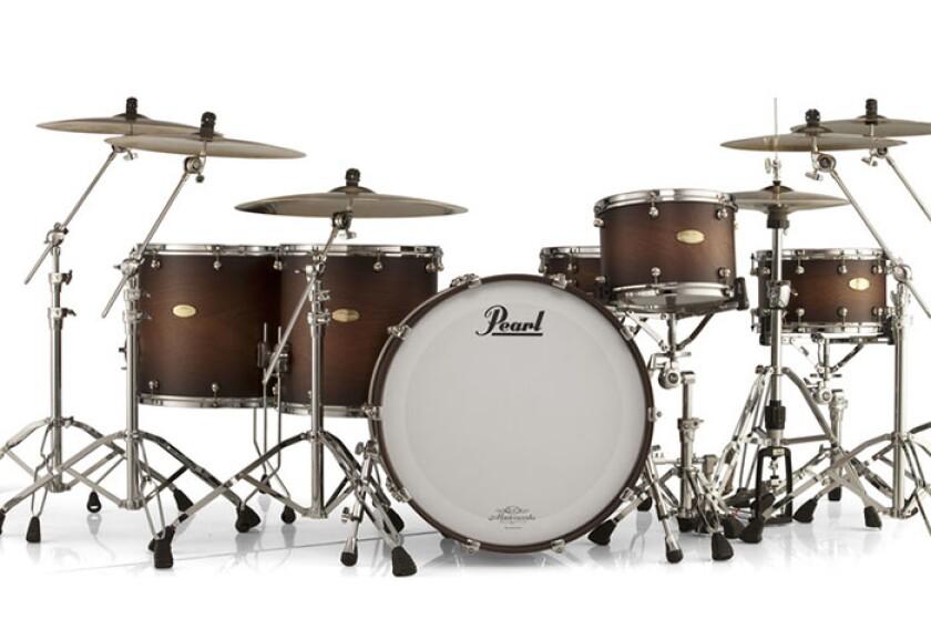 Pearl Masterworks Drum Kit