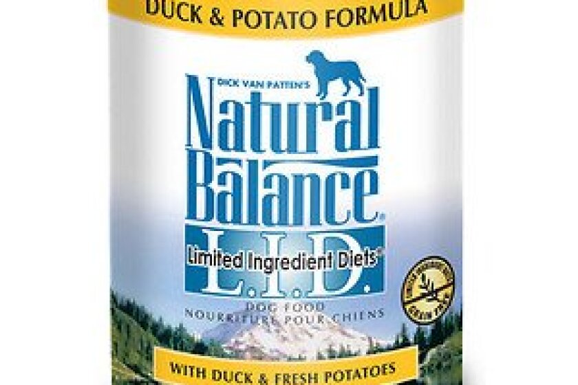 Natural Balance L.I.D. Limited Ingredient Diets Duck Canned Dog Food