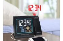 La Crosse 616-146A Atomic Projection Alarm Clock