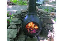 Blue Rooster ALCH014-CH - Dragonfly Chiminea Outdoor Fireplace
