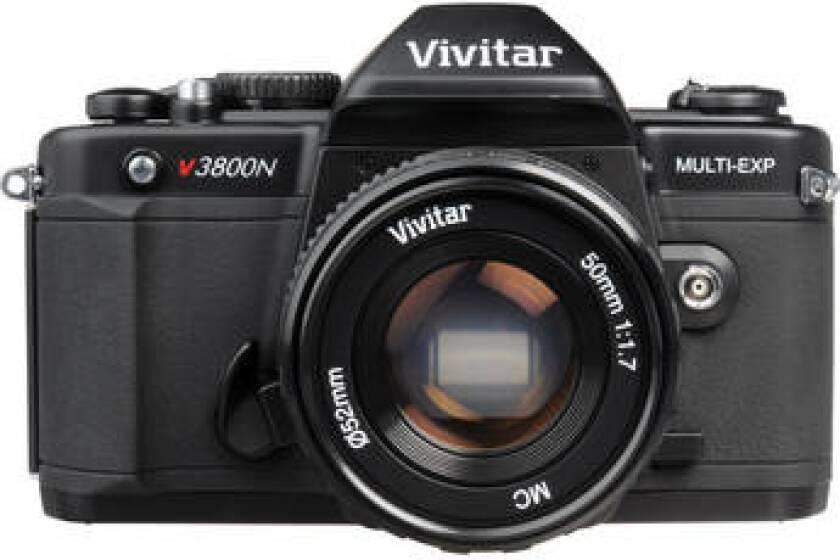 Vivitar V3800N 35mm SLR Camera with 50mm f1.7 Lens