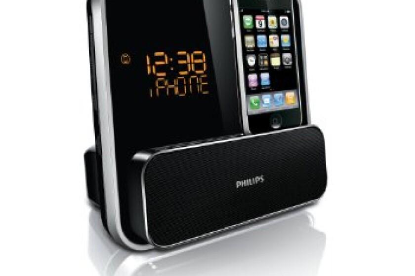 Philips DC315 Dual Alarm Clock Dock