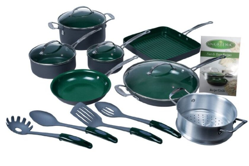 Orgreenic 16-piece Non-stick Cookware Set