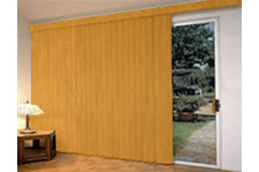 "Blinds Chalet 3 1/2"" Premier Wood Look Vertical Blinds"