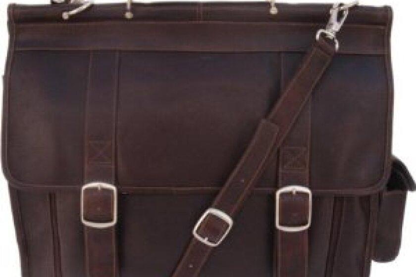 Piel Leather European Briefcase
