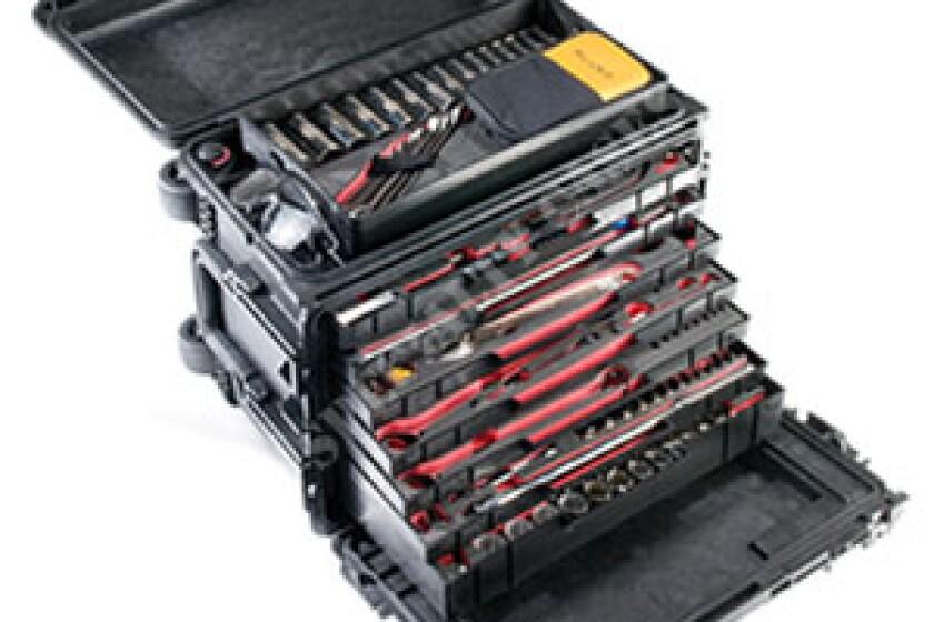 Pelican 0450 Mobile Tool Case